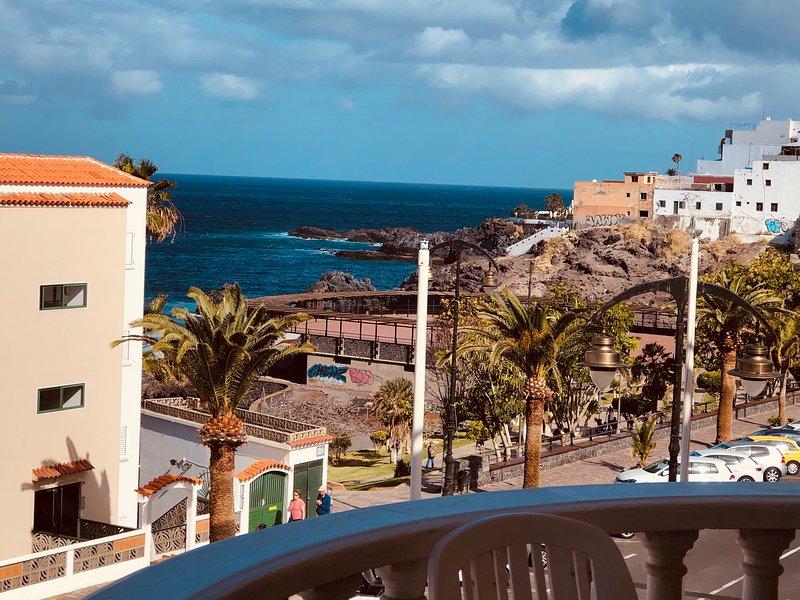 Ein Traum mit Meerblick 6 Pers. Playa la Arena, Ferienwohnung in Puerto de Santiago