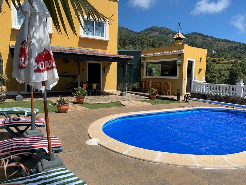 Villa terrazita, holiday rental in El Jesus
