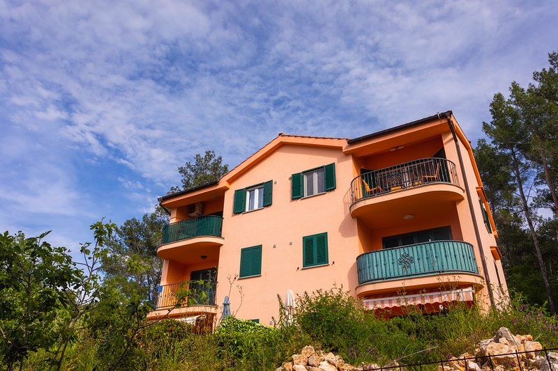 Seafront Apartment Soline With Seaview, vacation rental in Soline