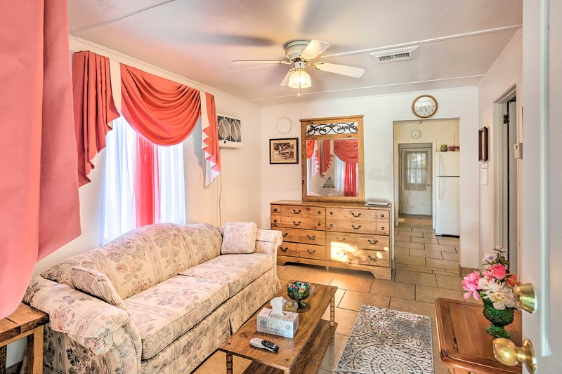 Escape to Camp Verde with your group of 5 and stay at this vacation rental.