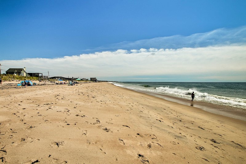 You'll love being able to walk to the beach!