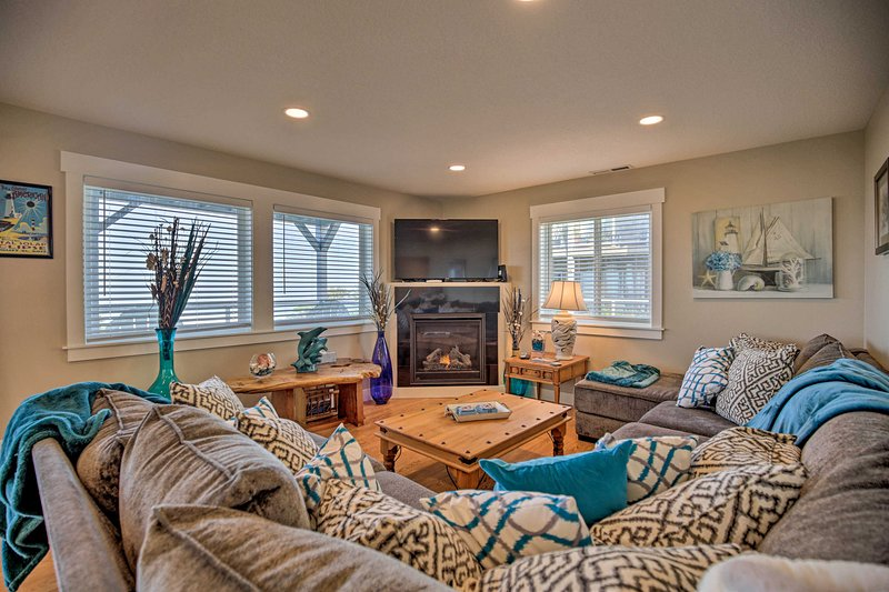 Bright, breezy and beach-inspired, the interior was designed to impress!