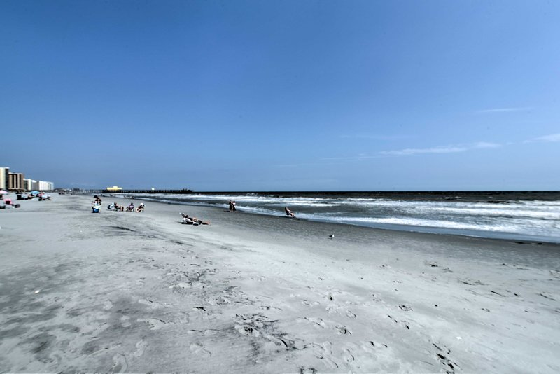 Your escape to this vacation rental condo is complete with beach access!