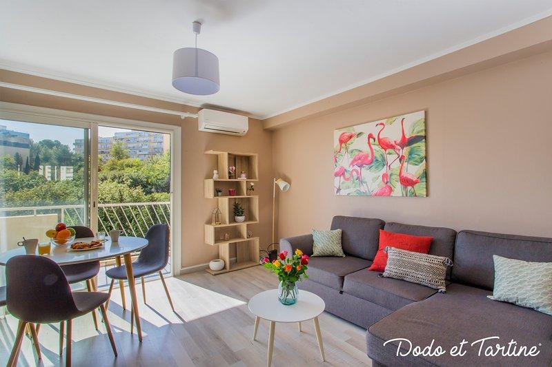 Warmly 2 bedroom with AC, balcony and parking - Dodo et Tartine, location de vacances à La Valette-du-Var