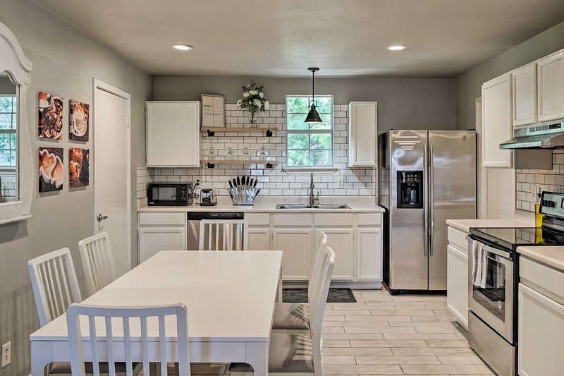 Whip up your favorite meals in the beautiful kitchen.