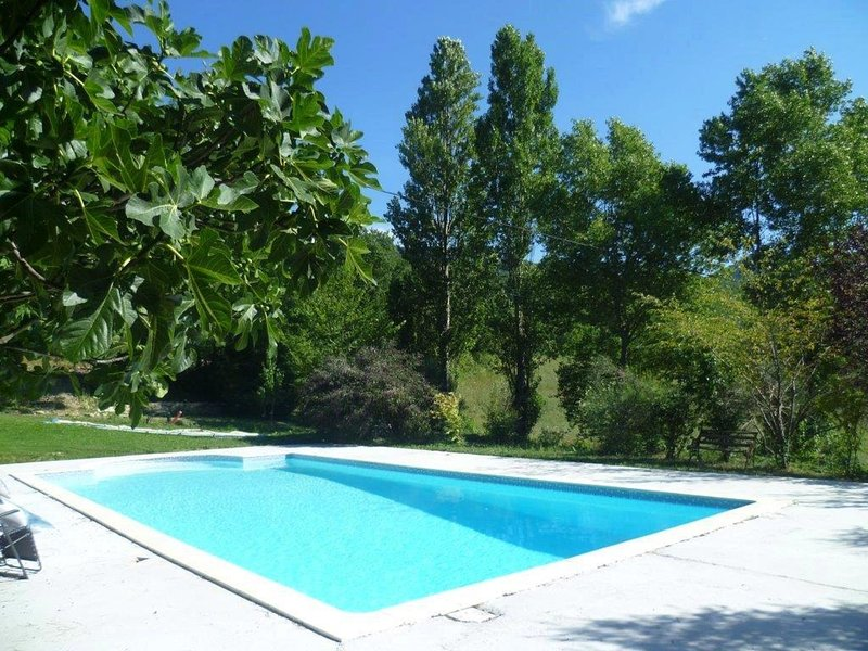 Charming Farmhouse in Pont-de-Barret with Swimming Pool, holiday rental in Rochebaudin