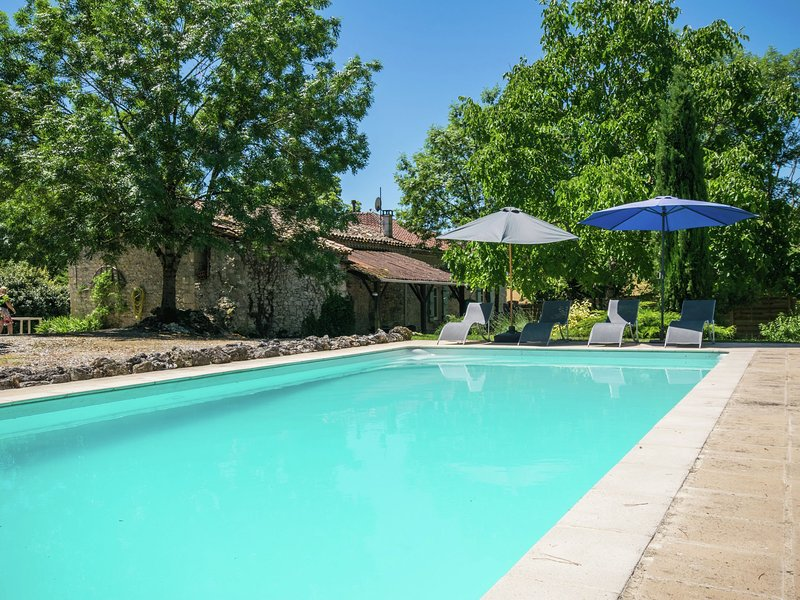 Wonderful authentic french house with private pool in a stunning location. – semesterbostad i Castelsagrat
