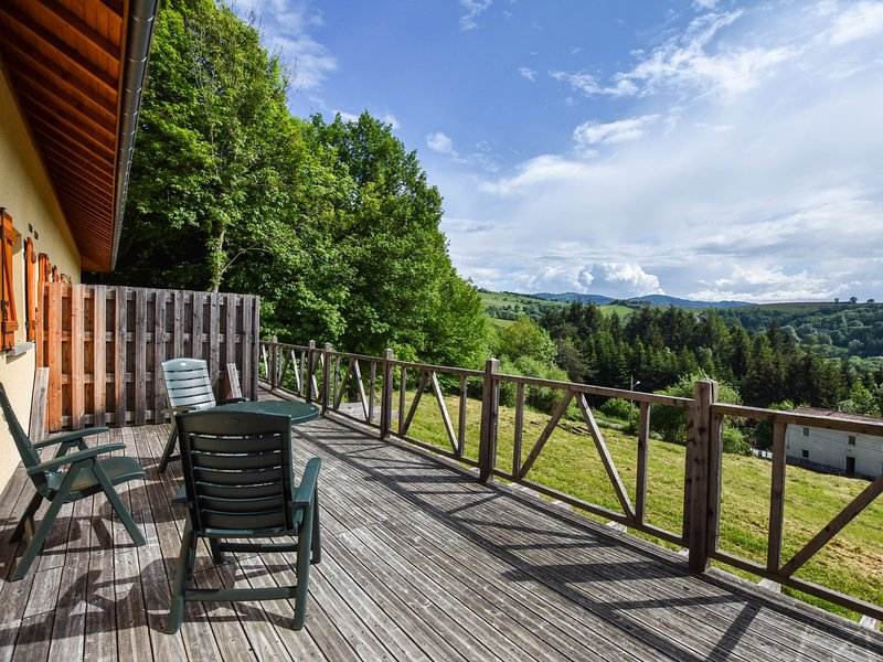 Cozy Holiday Home in Ferrières-sur-Sichon  with Terrace, vacation rental in Lavoine