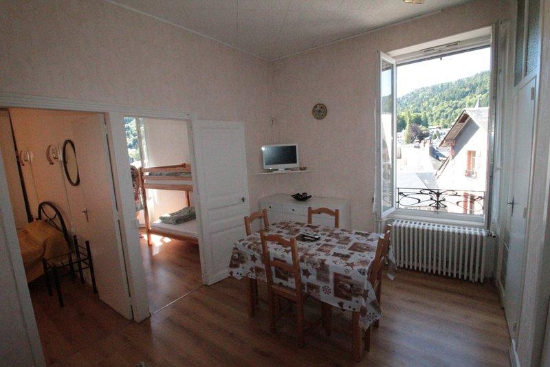 Sancy 8, holiday rental in La Bourboule