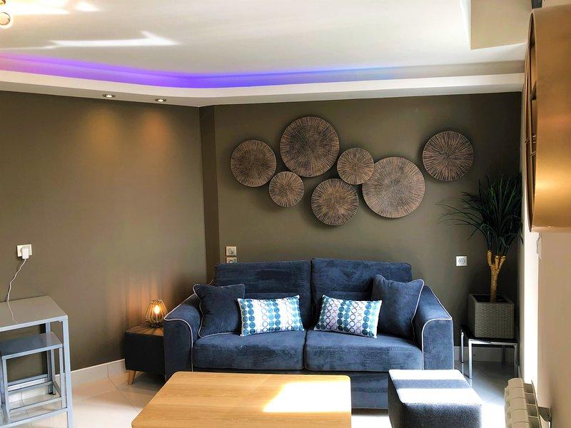 Studio meublé et entièrement neuf centre-ville, holiday rental in Premilhat