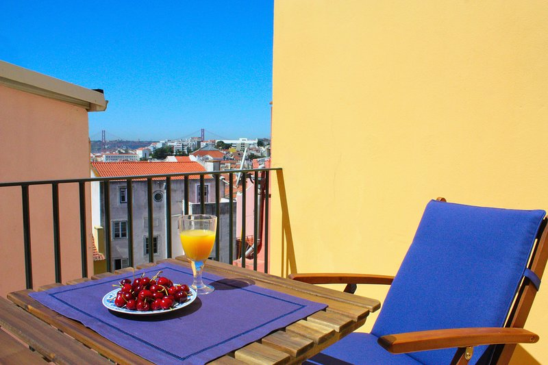 Courtesy Principe Real, HIDDEN TERRACE, LISBON VIEWS, vacation rental in Lisbon