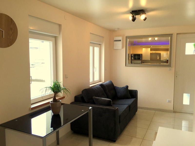 Appartement 2 pièces à louer centre-ville, holiday rental in Premilhat