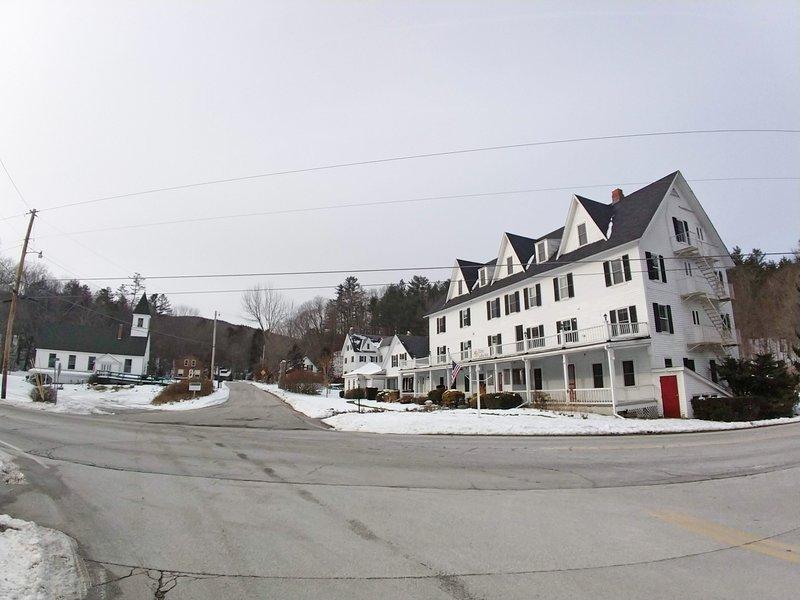 Echo Lake Inn, half a mile away