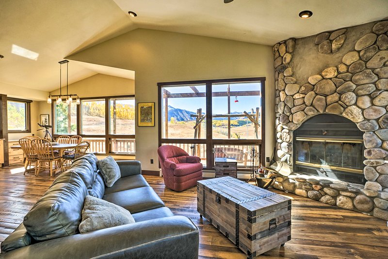 Elevate your next alpine retreat at this Mt. Crested Butte vacation rental.