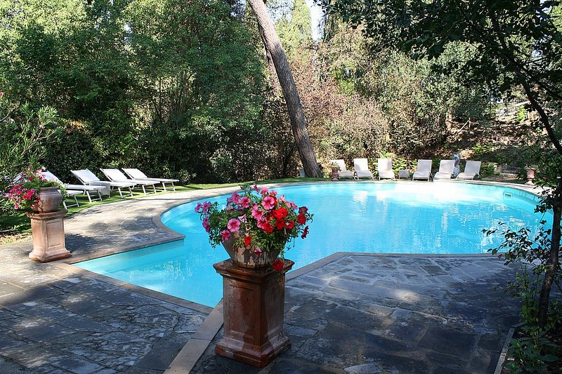 Villa Davide C, Ferienwohnung in Chiusi