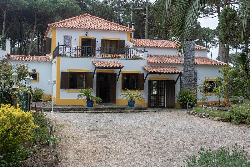 Quinta de Santa Maria, Janas, Sintra, holiday rental in Magoito