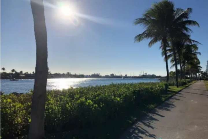 Private Path with Intracoastal View