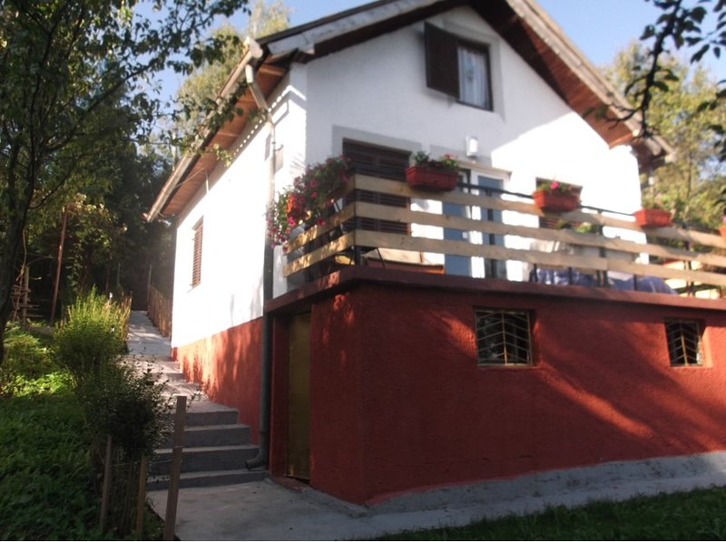 Nice house with garden & terrace, holiday rental in Babanovac