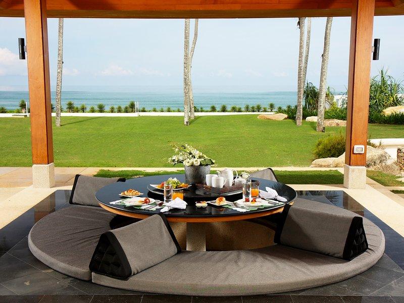 Villa Sundara - Sala con vista sull'oceano