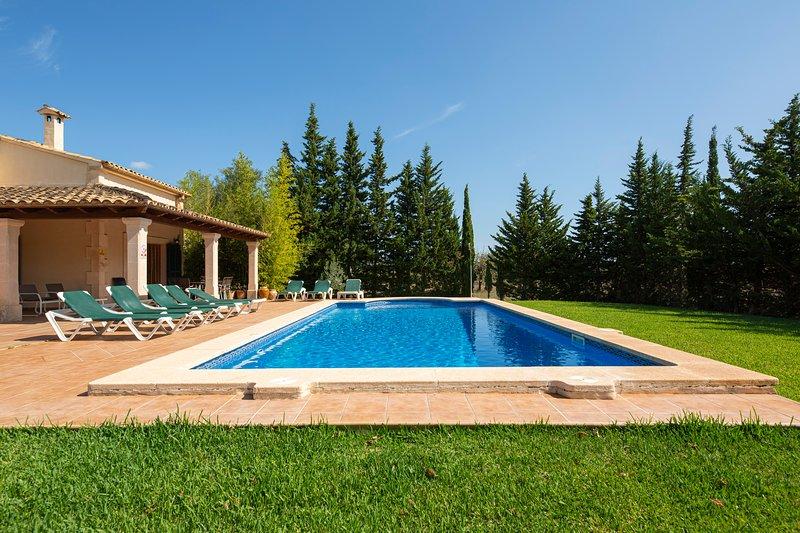 Pode Colet piscina e jardim