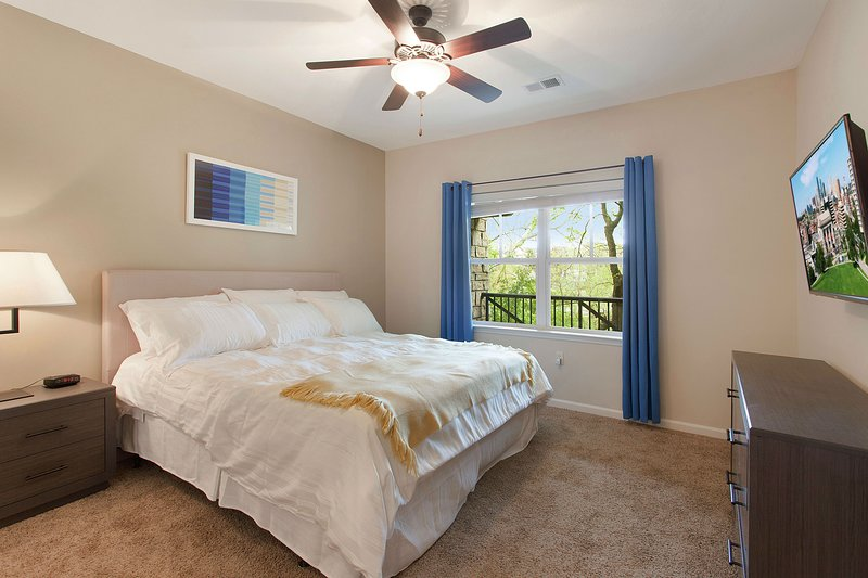 Quiet King Retreat, Wifi, Smart TVs, Perfect for Business and Medical Travelers, location de vacances à Overland Park