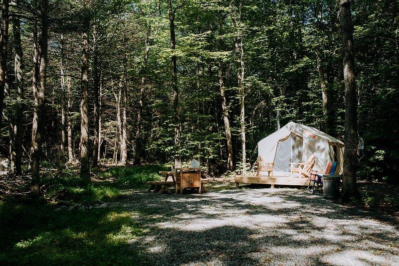 Tentrr Signature Site - E and L Farms, location de vacances à Pine Bush