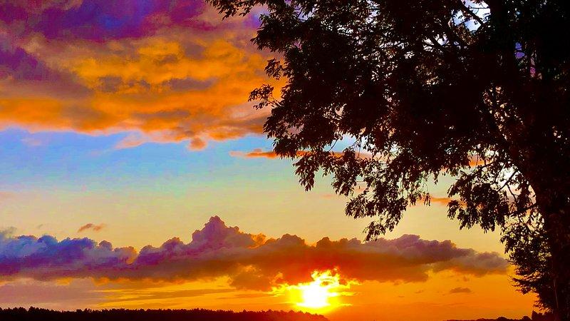 Es wird Ihnen schwer fallen, einen besseren Sonnenuntergang als einen Norfolk Autumn Sunset zu finden.