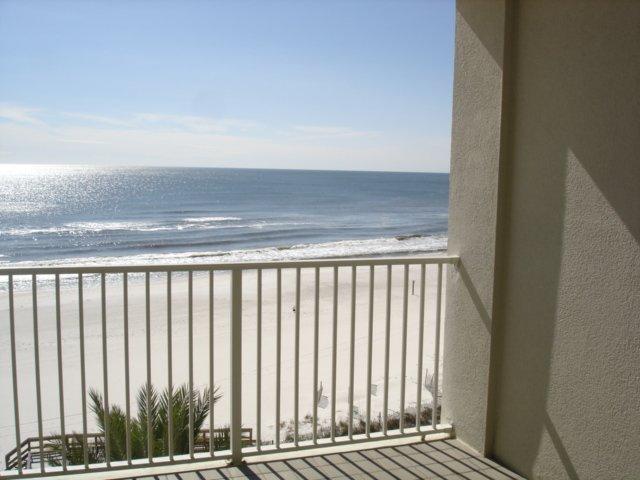 Pelican Pointe 602-View dal balcone al 6 ° piano della spiaggia