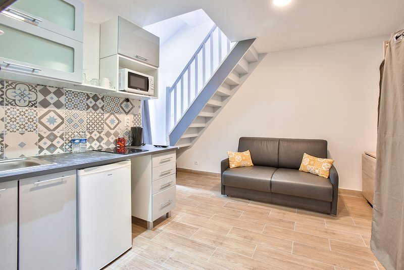 Duplex Luxueux Vacances ou Dépla Professionnel, vacation rental in Malakoff