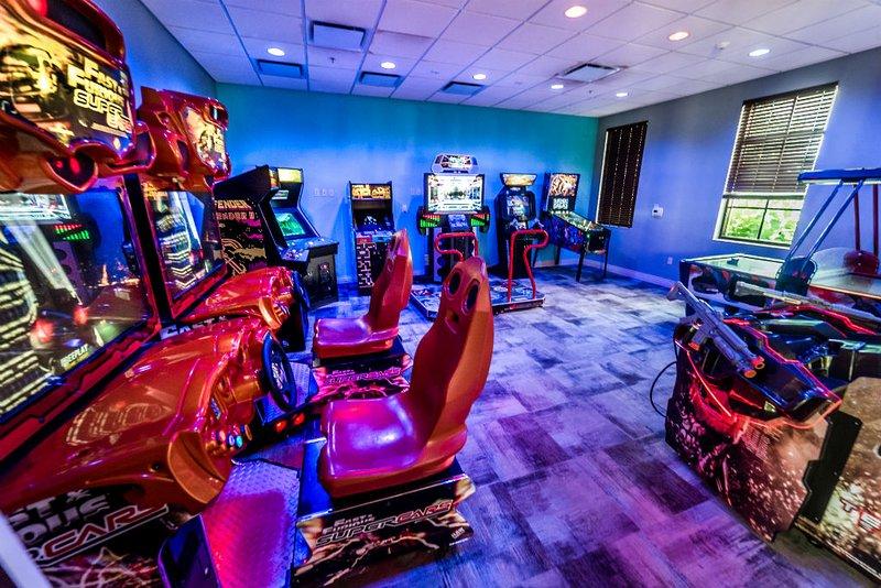 Windsor At Westside Resort Arcade / Sala de jogos