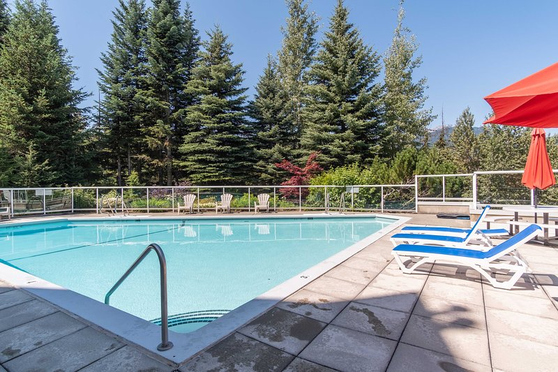 Pool area - open in the summertime.