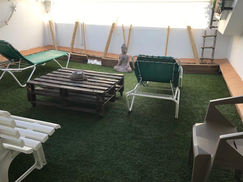 Triplex 160m2 4 TERRAZAS ideal familias, cerca de playa y montaña ., vacation rental in Sant Adria de Besos
