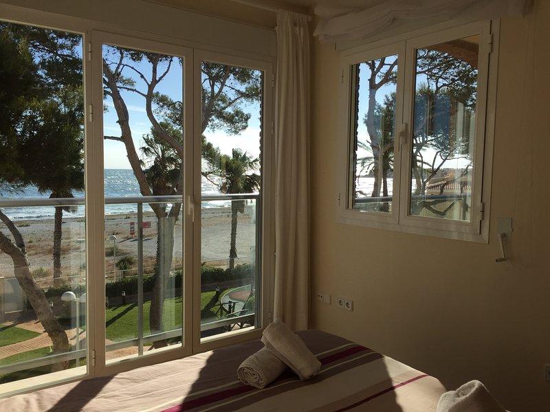 Acogedor apartamento con fabulosas vistas al mar – semesterbostad i El Verger