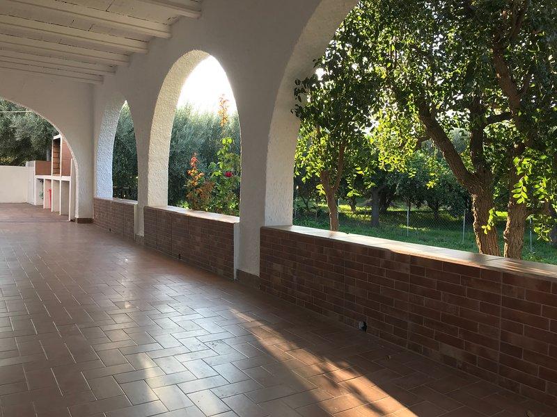 El cortijo de la Abuela Casa de campo entre naranjos – semesterbostad i El Toyo