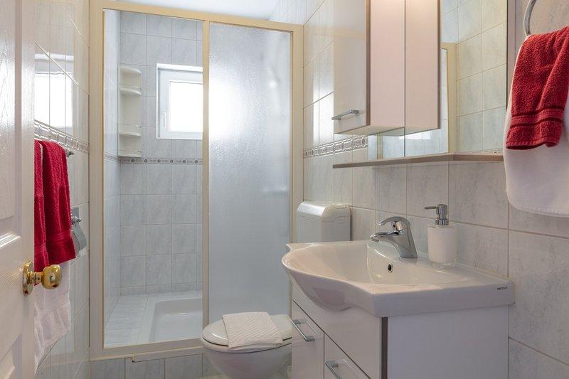 A1 Crveni(2+2): bathroom with toilet