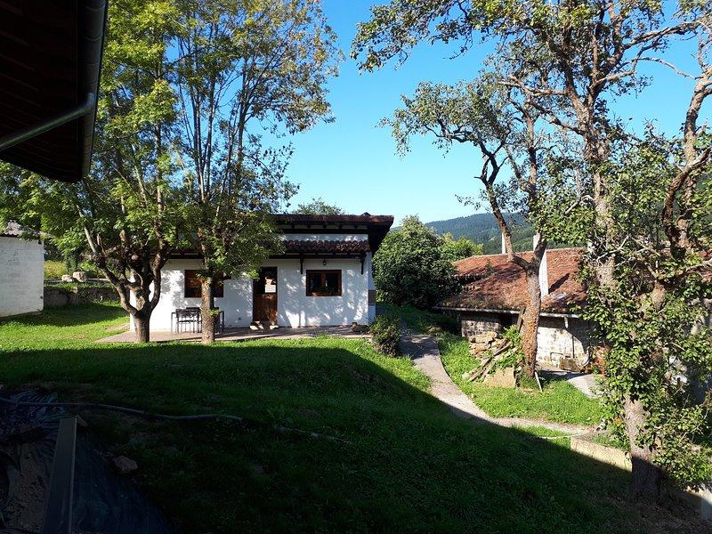 Casa con encanto entre dos parques naturales, holiday rental in Artea