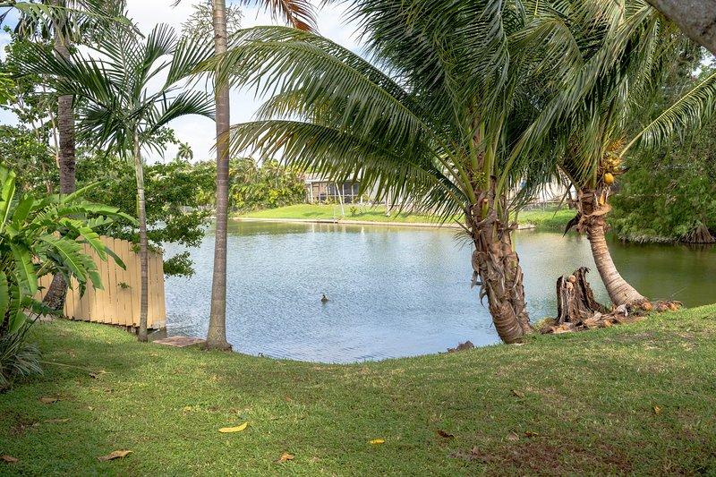 Terrazza sul patio con vista sul lago