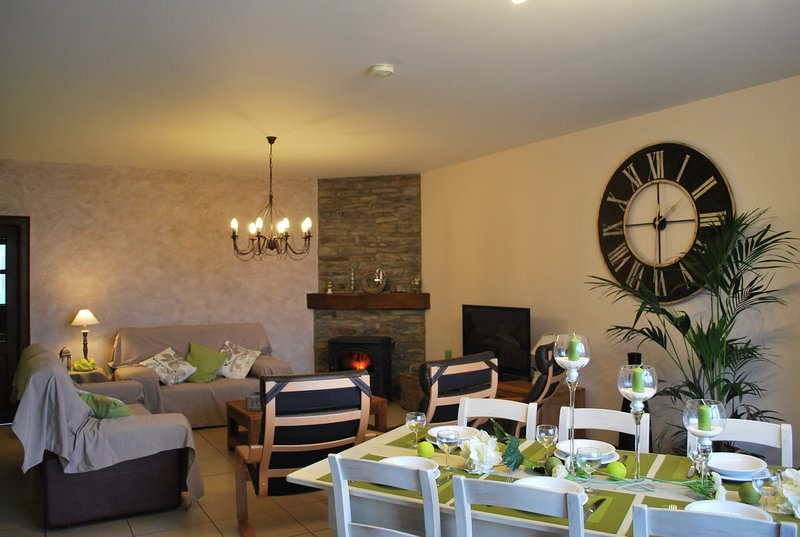 Amazing house with terrace & Wifi, Ferienwohnung in Transinne