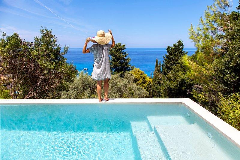 Luxury Villa DaLula in Agios Nikitas Lefkada, holiday rental in Asproyerakata