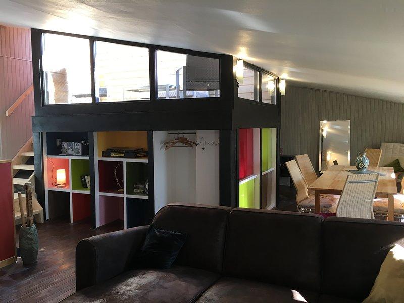 Duplex 6/8 pers. 3 ch. Centre Blaye Terrasse sur Gironde, holiday rental in Berson