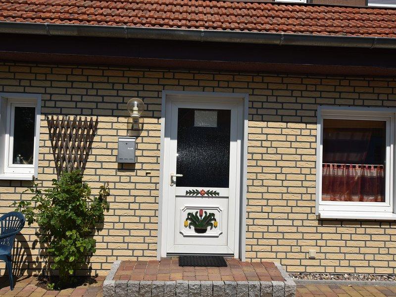 Cozy Apartment in Wieck a. Darß with Garden, alquiler vacacional en Wieck