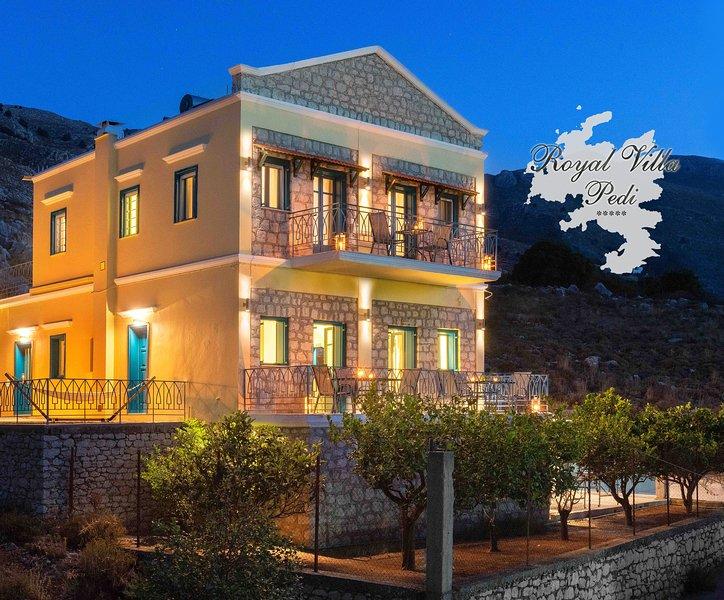 Royal Villa Pedi, holiday rental in Symi