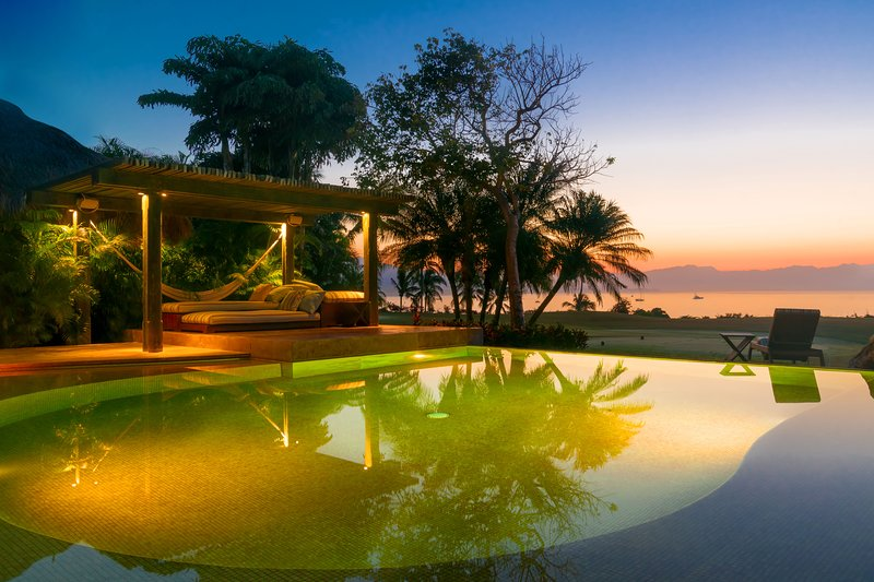 'Absolute bliss.' Fully Staffed Balinese-Mexican Oceanfront Living Golf & Beach, vacation rental in Punta de Mita