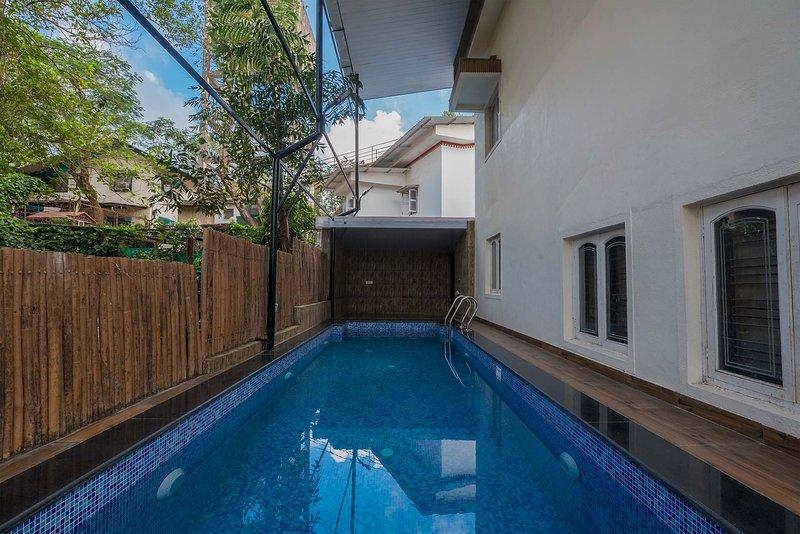 Zone de la piscine