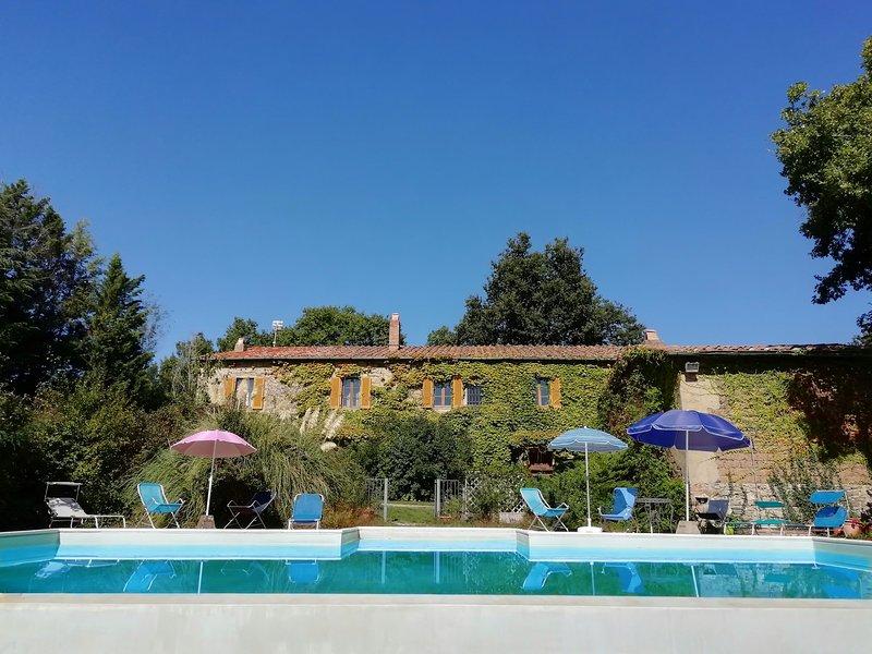 Podere Poggio Corbo (Arco), holiday rental in Chiusdino