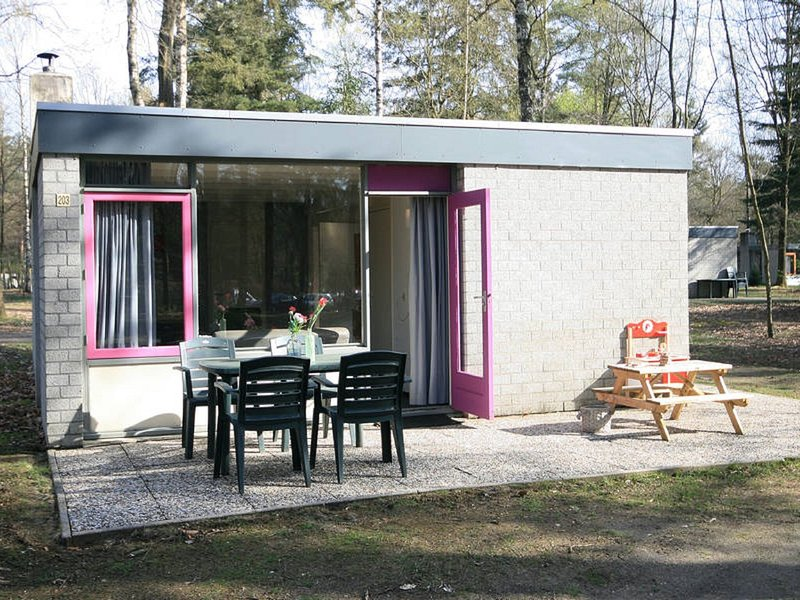 Comfortable bungalow with a tree house box bed on the Veluwe, holiday rental in Olst