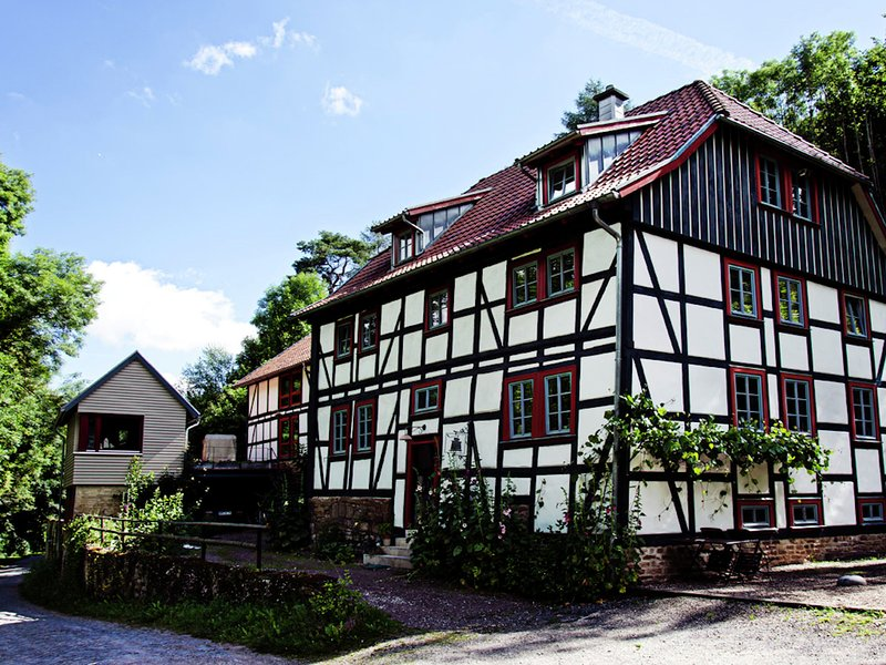 Cosy apartment on upper floor of a historic watermill, holiday rental in Urbach