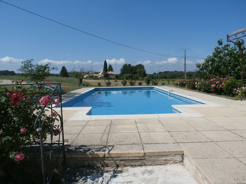 Amazing villa with swimming-pool, holiday rental in Peyrolles-en-Provence