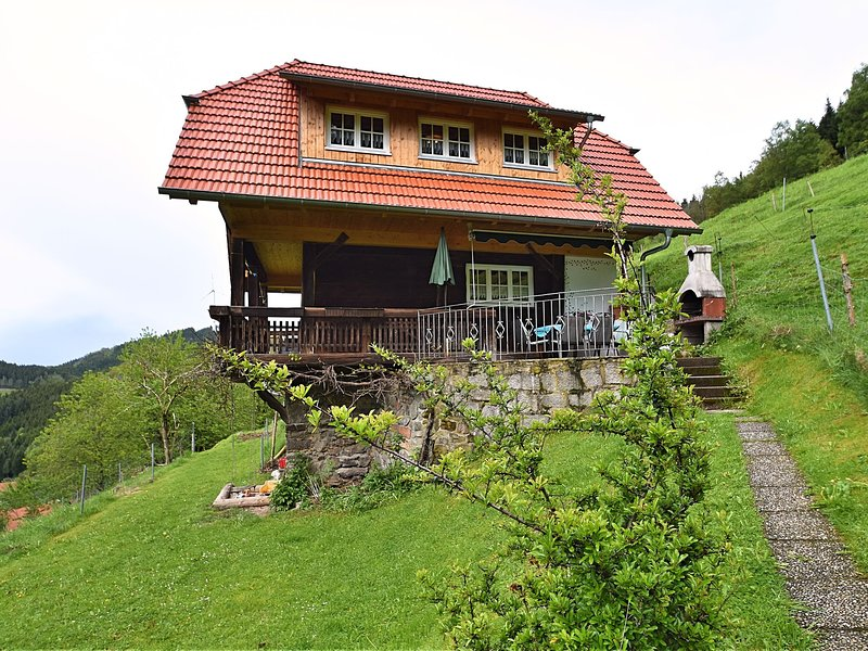 Detached holiday home with a great view and private terrace in the Black Forest, vacation rental in Hofstetten