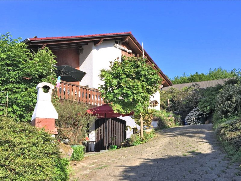 Beautiful attic apartment in the Westerwald with a large terrace, holiday rental in Willingen